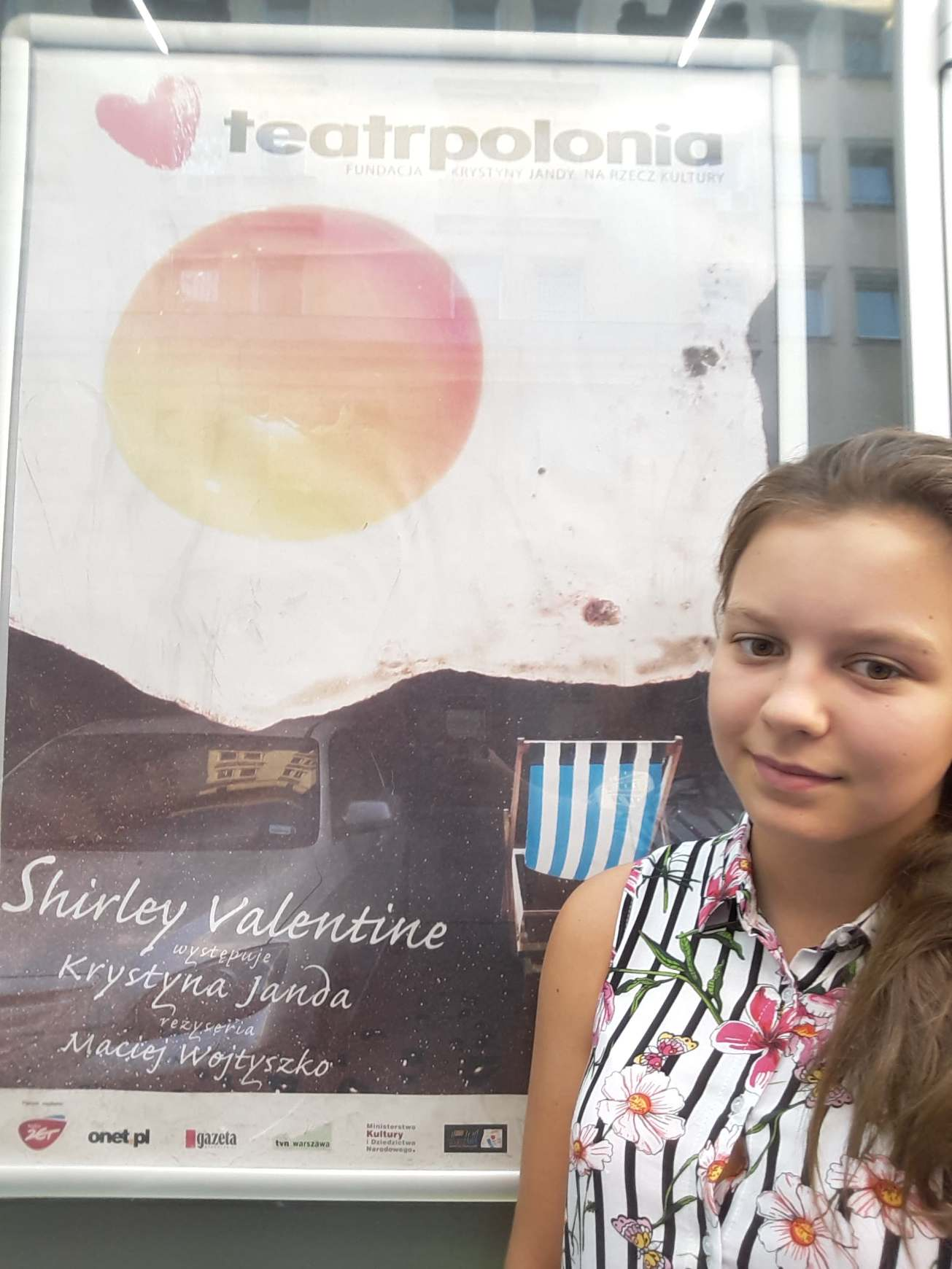 Shirley Valentine, Teatr Polonia, Krystyna Janda
