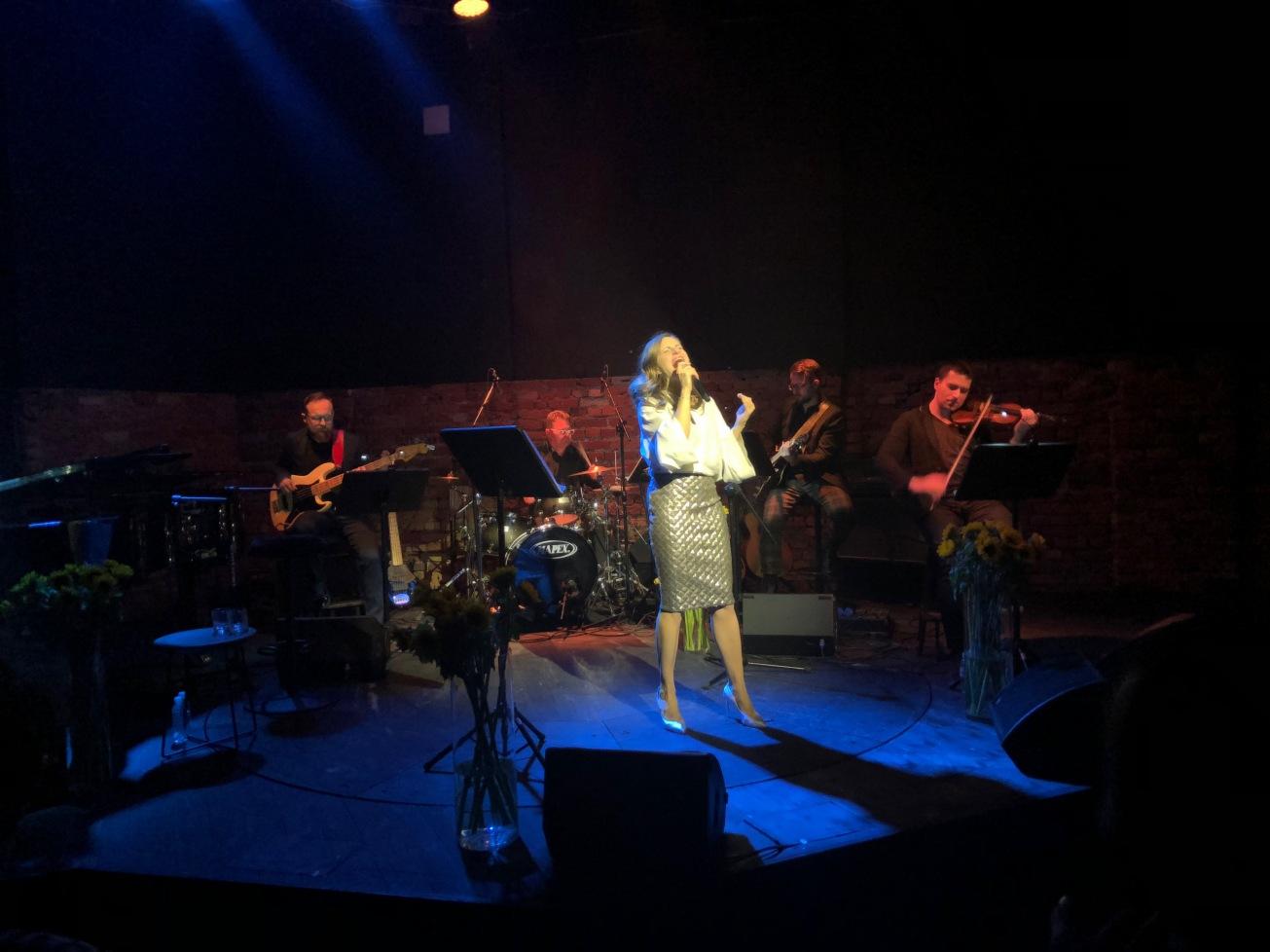 Zdjęcie zrobione podczas wczorajszego koncertu :)
