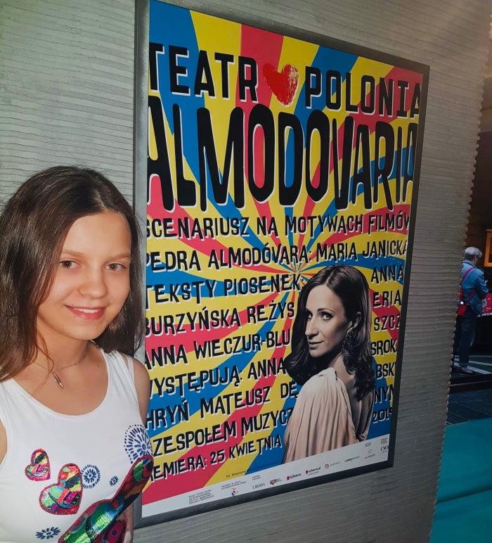 W foyer Teatru Polonia