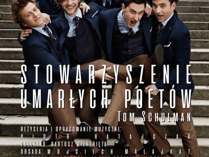 Plakat promujący spektakl